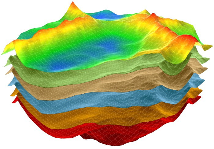 Geological 3D map